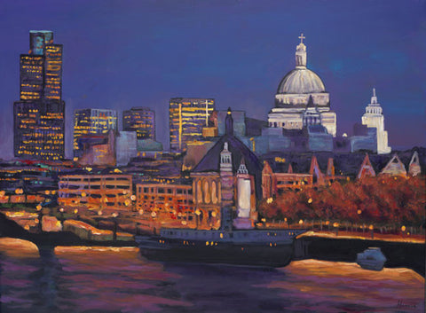 London Calling European painting by Johnathan Harris