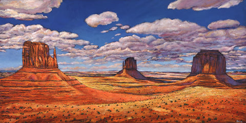 Monumental - Contemporary Western Landscape Art Johnathan Harris