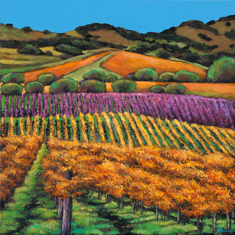 Contemporary Napa Valley painting by Johnathan Harris