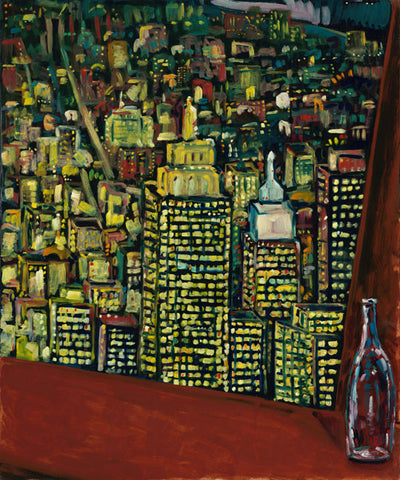 Giclée art print of Manhattan New York City