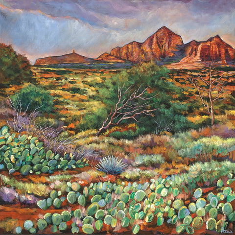Sedona Red Rocks and Desert Southwest Landscape Art Johnathan Harris
