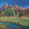 Wyoming Grand Tetons National Park Contemporary T.A. Moulton Barn by Johnathan Harris