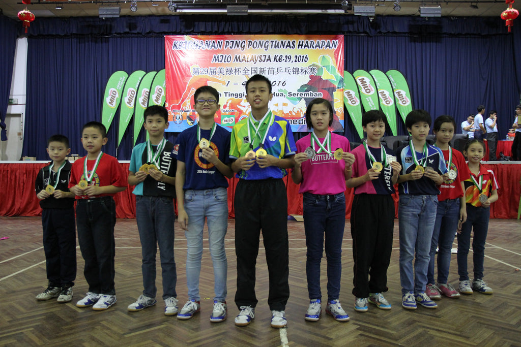 29th National Hopes Table Tennis Championship 2016 - Overall Results