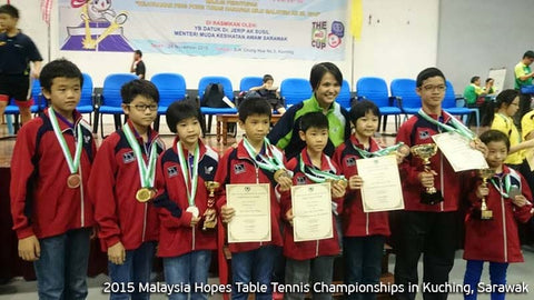 2015 Malaysia Hopes Table Tennis Championships in Kuching, Sarawak