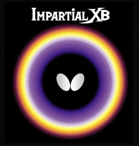 BUTTERFLY IMPARTIAL XB - Rubber - SETTC