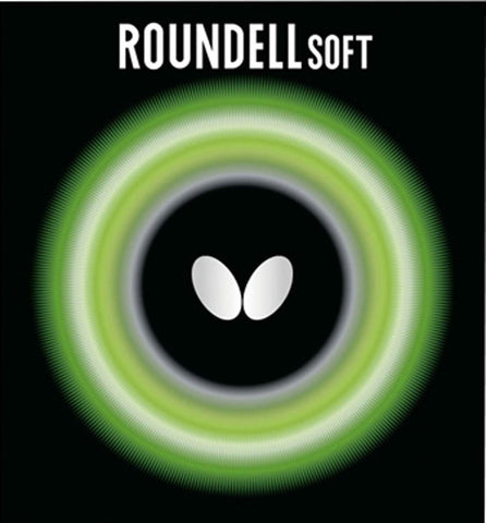 BUTTERFLY ROUNDELL SOFT - Rubber - SETTC
