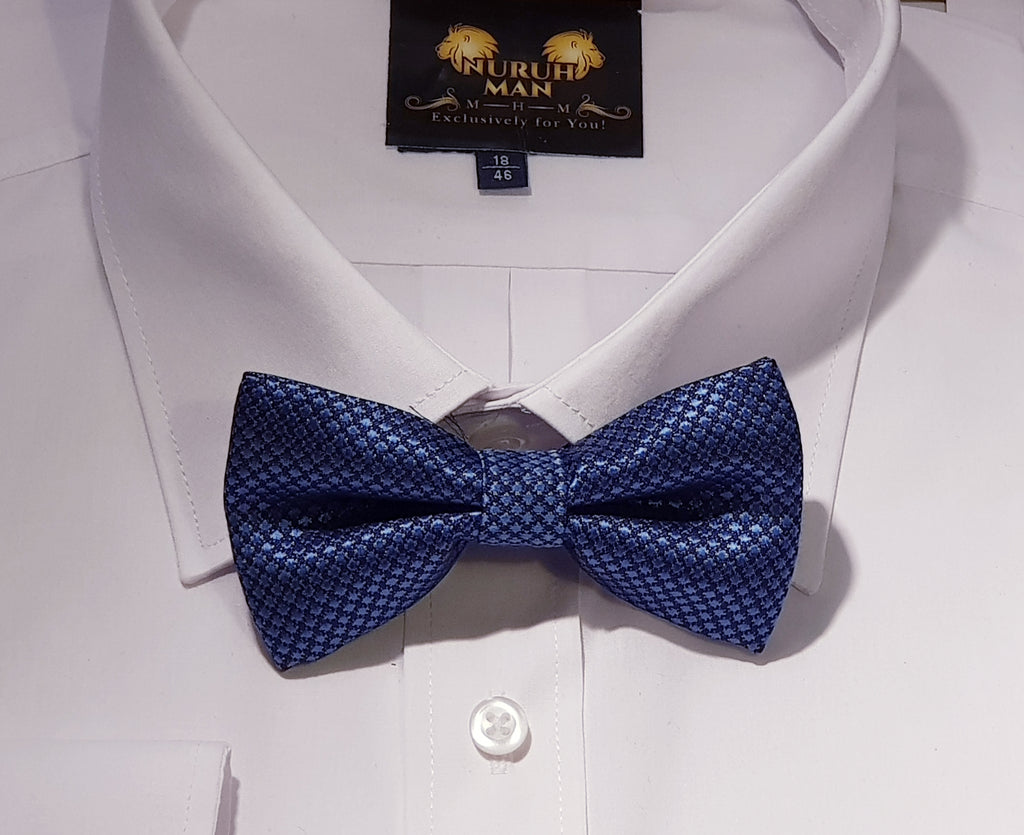 Blue Oyster Bow Tie
