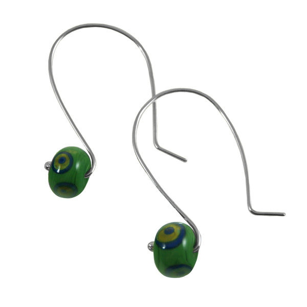Eye Candy earring - blue/green