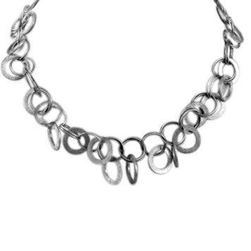 Textured Loopy Linx Necklace