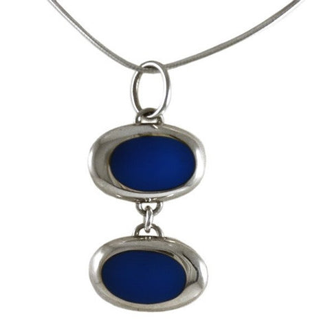 Resinate Pendant Blue