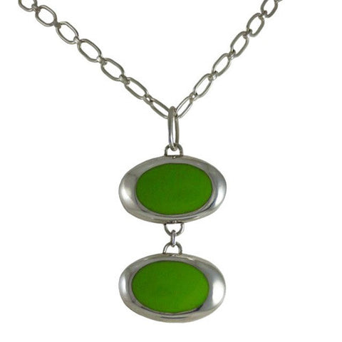 Resinate Pendant Green