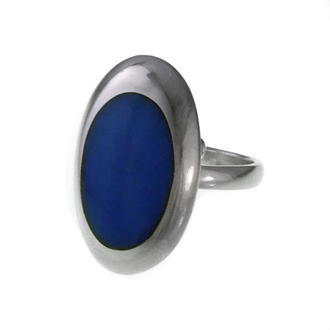Resinate Ring Blue