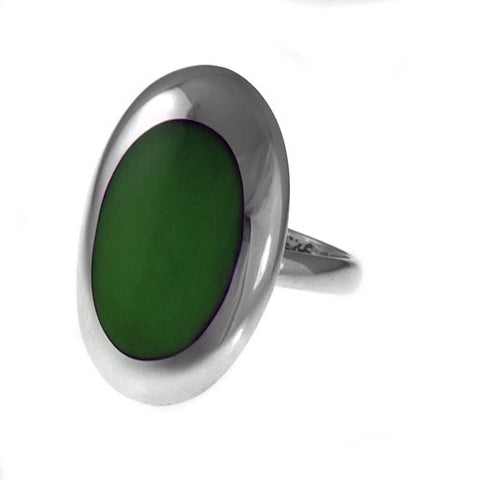Resinate Ring Green