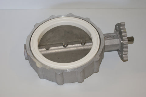 "6"" Butterfly Valve,Aluminum Body, Stainless Disc, White Seat (part # 6-480-003501)"