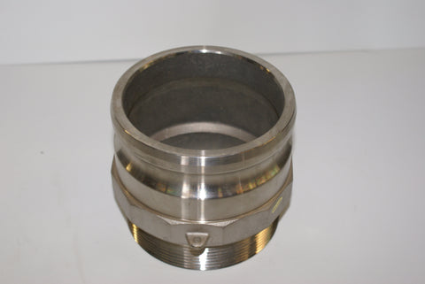 "Camlock Coupling 3"" SS Part F (part # PF30S)"