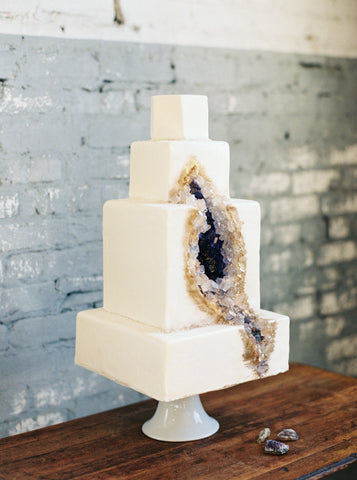 Geode Cake MORNING LIGHT BY MICHELLE LANDREAU