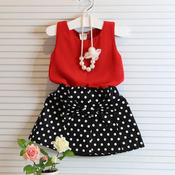 Christine Top and Skirt Set