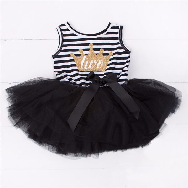 Birthday Tutu Sleeveless Dress