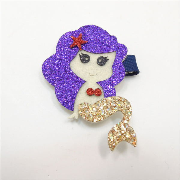 Glitter Mermaid Hair Clip