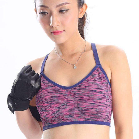 Beautiful Padded Wire free Sports Bra. - Ultimate Yoga Bliss, Yoga Leggings, Yoga Pants, Yoga Tops