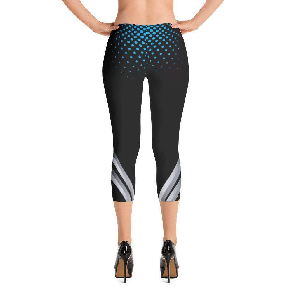 Ultimate Yoga Bliss:Black Panther Yoga Capri,[variant_title],Yoga Leggings, Yoga Capri, Yoga Clothing, Yoga accessories