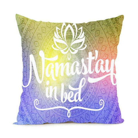 Ultimate Yoga Bliss:Cute Mandala Throw Pillow case -Another Level of Comfort,Multi Color / 14x14 inch,Yoga Leggings, Yoga Capri, Yoga Clothing, Yoga accessories
