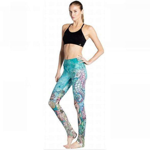 El-Natural Yoga Leggings - Ultimate Yoga Bliss, Yoga Leggings, Yoga Pants, Yoga Tops