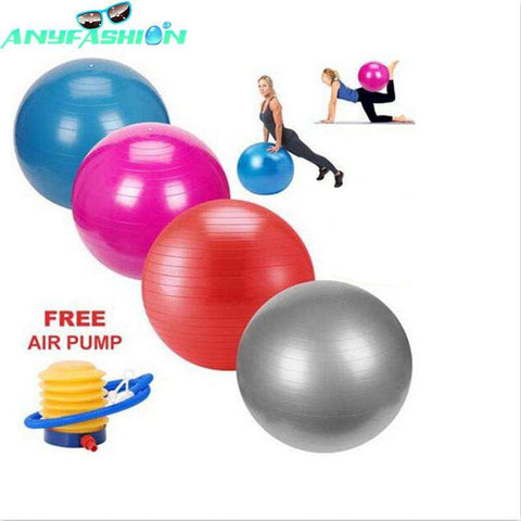 Exercise Ball With Pump - Ultimate Yoga Bliss, Yoga Leggings, Yoga Pants, Yoga Tops