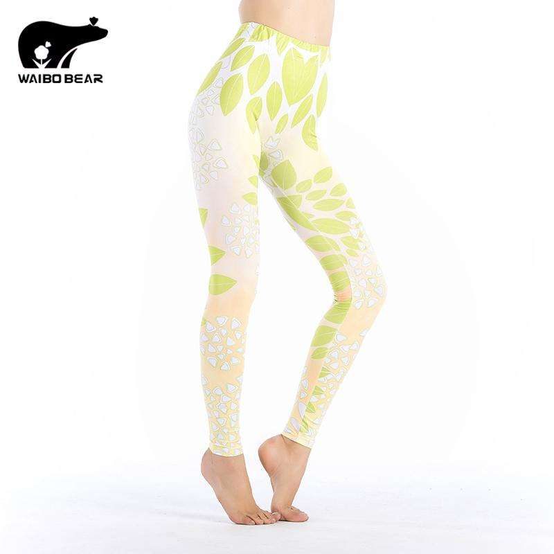 Fall Color Printed Leggings - Ultimate Yoga Bliss, Yoga Leggings, Yoga Pants, Yoga Tops