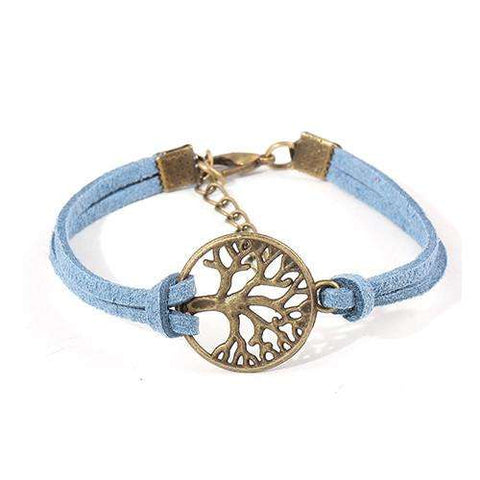 Fashion Vintage Hand-Woven Tree of Life Leather Charm Bracelet - Ultimate Yoga Bliss, Yoga Leggings, Yoga Pants, Yoga Tops