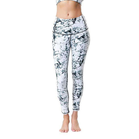 Fresh Natural Printed Yoga Leggings - Ultimate Yoga Bliss, Yoga Leggings, Yoga Pants, Yoga Tops