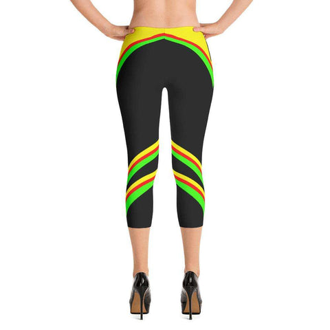 Go Wild Yoga Capri - Ultimate Yoga Bliss, Yoga Leggings, Yoga Pants, Yoga Tops