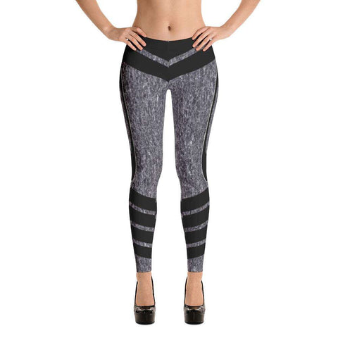 Black Cobra Leggings