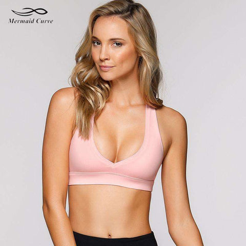 Mermaid Curve Sports Bra. - Ultimate Yoga Bliss, Yoga Leggings, Yoga Pants, Yoga Tops
