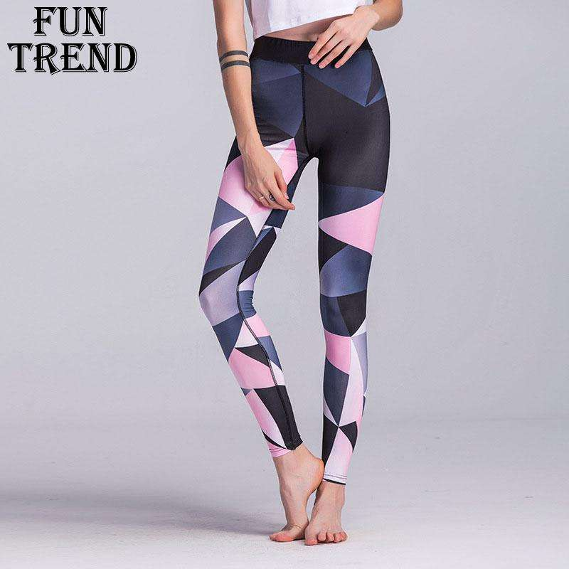 Ultimate Yoga Bliss:Pink Maze Yoga Leggings,[variant_title],Yoga Leggings, Yoga Capri, Yoga Clothing, Yoga accessories
