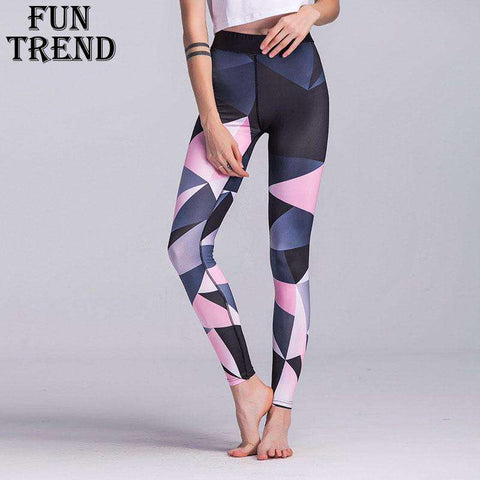 Oyoo Black Contrast Yoga Leggings