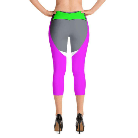 Ultimate Yoga Bliss:Power Pink Yoga Capri,[variant_title],Yoga Leggings, Yoga Capri, Yoga Clothing, Yoga accessories