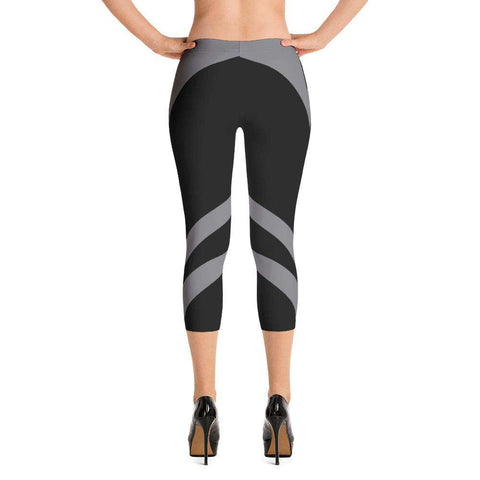 Sexcy Grey Yoga Capri - Ultimate Yoga Bliss, Yoga Leggings, Yoga Pants, Yoga Tops