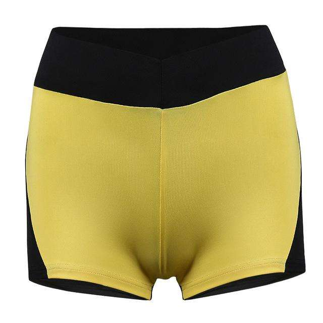 Sexy High Waist Women Heart Pattern Yoga Shorts. - Ultimate Yoga Bliss, Yoga Leggings, Yoga Pants, Yoga Tops