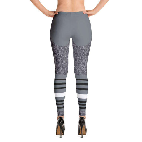 Shades of Grey Leggings - Ultimate Yoga Bliss, Yoga Leggings, Yoga Pants, Yoga Tops