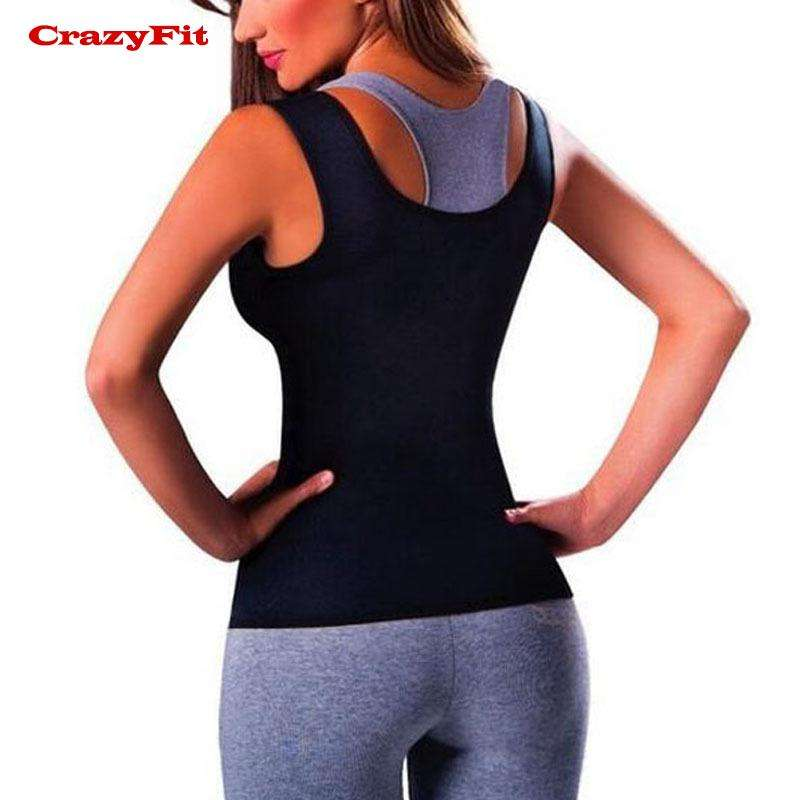 Shaper Fat Burning Corset Sleeveless Vest Tank. - Ultimate Yoga Bliss, Yoga Leggings, Yoga Pants, Yoga Tops