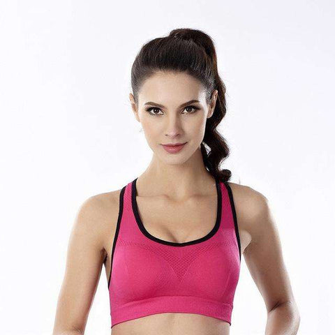 Shockproof Padded Sports Bra. - Ultimate Yoga Bliss, Yoga Leggings, Yoga Pants, Yoga Tops
