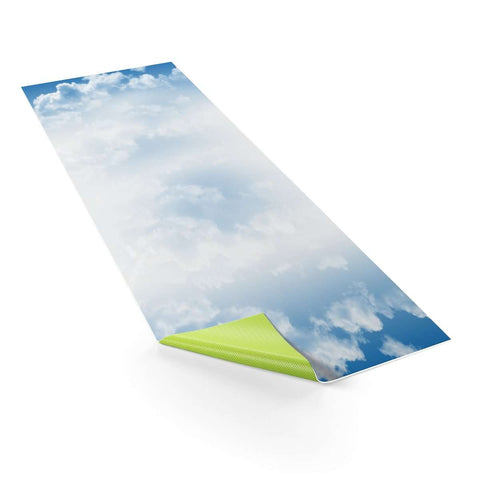 Ultimate Yoga Bliss:Sky Blue - Nature Mat,One size,Yoga Leggings, Yoga Capri, Yoga Clothing, Yoga accessories