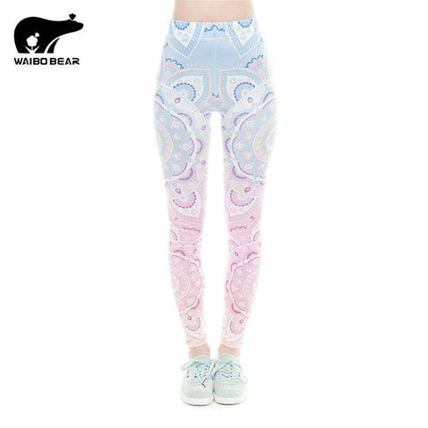 Techno Pink Leggings