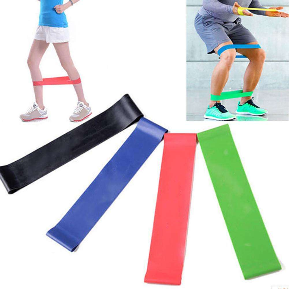 Sports Resistance Loop Band Exercise Yoga Bands Fitness Gym Strength Training - Ultimate Yoga Bliss, Yoga Leggings, Yoga Pants, Yoga Tops