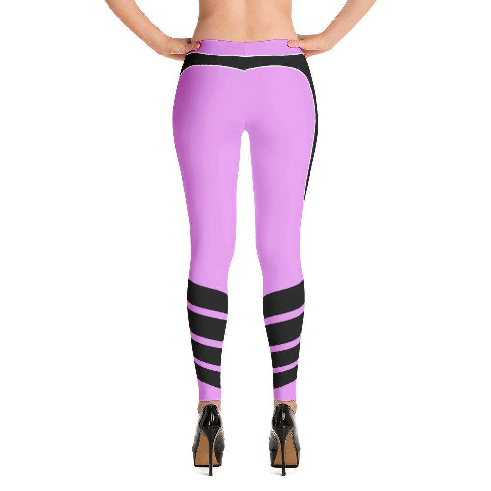 Techno Pink Leggings - Ultimate Yoga Bliss, Yoga Leggings, Yoga Pants, Yoga Tops