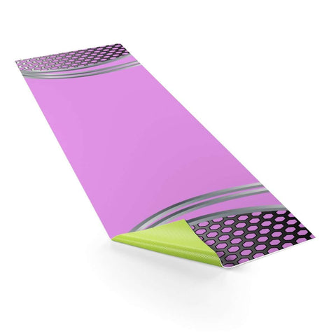 Techno Pink Mat - Ultimate Yoga Bliss, Yoga Leggings, Yoga Pants, Yoga Tops
