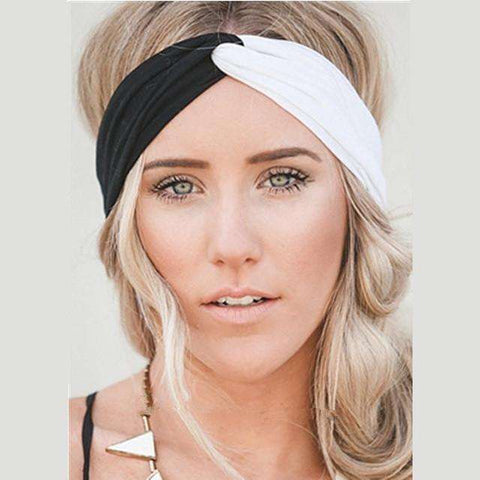 Twist Turban Fashion Multi Color Headband- Yoga with a Twist - Ultimate Yoga Bliss, Yoga Leggings, Yoga Pants, Yoga Tops