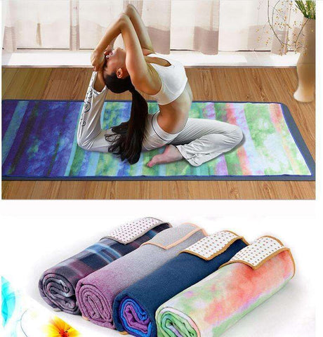 Vibrant 3D Print Non-Slip Yoga Towel-Must Have Handy Delight - Ultimate Yoga Bliss, Yoga Leggings, Yoga Pants, Yoga Tops