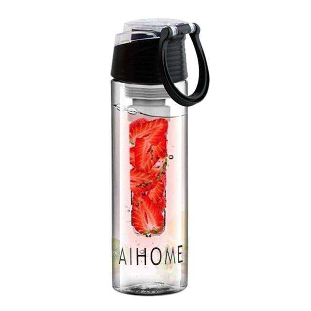 Ultimate Yoga Bliss:Water bottle with fruit infuser 800ml.,China / 701-800ml / Black,Yoga Leggings, Yoga Capri, Yoga Clothing, Yoga accessories